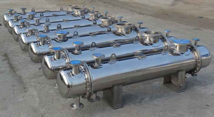 Sunrax heat exchangers